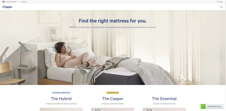 Why Casper Mattresses - Find the right mattress for you