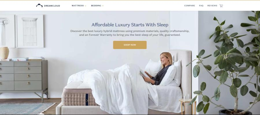 Dream Club - affordable luxery starts with sleep