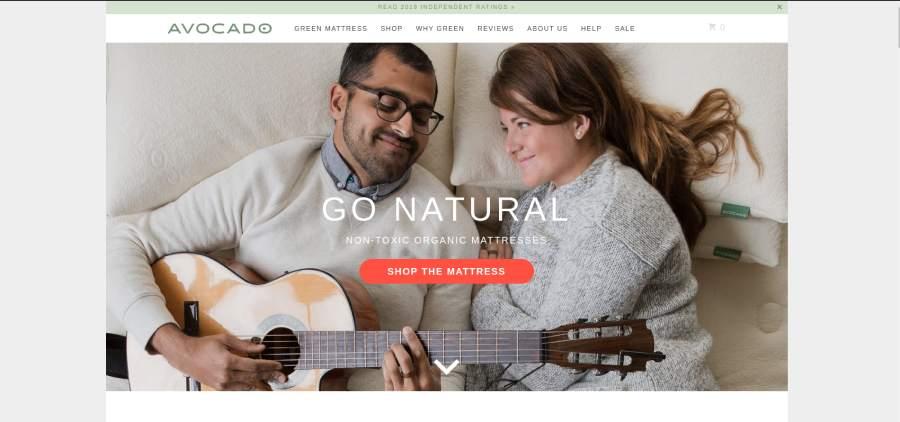 Avocado Green Mattress - Go Natural