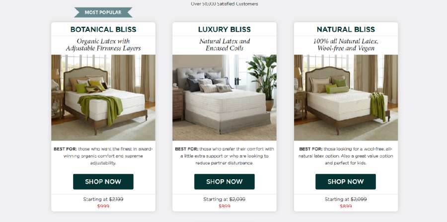 PlushBeds Mattress Pricing