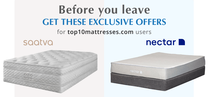 find out more about exclusive offers at top10mattresses.com