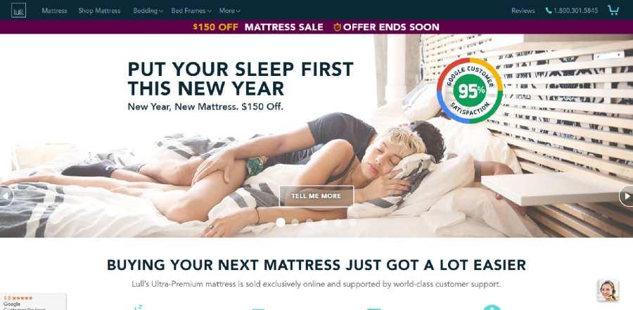 Lull Mattresses - Put your sleep first