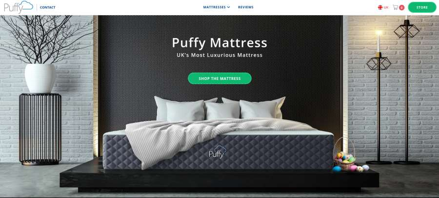 Puffy Mattress UK's most luxurious mattress