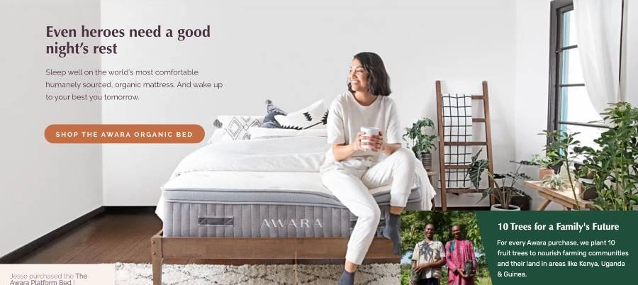 Even heroes need a good nights rest - Awara mattresses